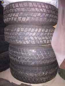 Hankook Winter Tires on Rims 195/60r15