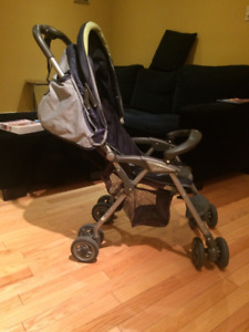 Strolee Stroller Green and Grey