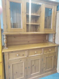 Stunning high end quality solid wood dresser