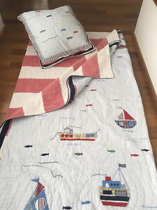 Courtepointe et tapis Pottery Barn Kids