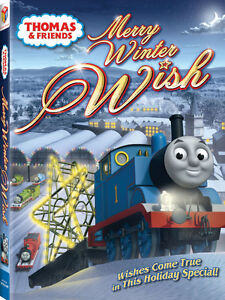 Thomas Trains and Thomas & Friends Merry Winter Wish DVD