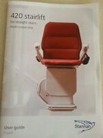LIGHTLY USED STANNAH STAIRLIFT