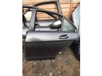 2008 Mercedes c class w204 passenger side rear door in grey
