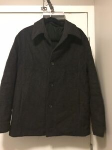 Hugo Boss Grey Jacket, LArge, Authntic Kitchener / Waterloo Kitchener Area image 1