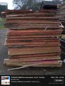 Looking to buy used 4 x 8 sheets of plywood