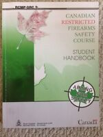 Restricted Firearms Safety Course Manual