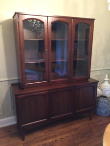 NEW PRICE - Dining Hutch/Display Cabinet