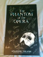AUTOGRAPHED PHANTOM OF THE OPERA POSTER