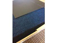 20 brand New unused Navy Contract Carpet Tiles