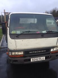 Mitsubishi canter 3.5 t 16 ft drop side 52 plate export