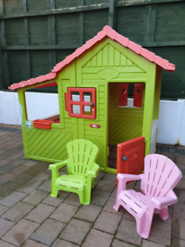 Child's Large Smoby Playhouse