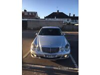Mercedes E class 220 CDI sale or exchanging with another car