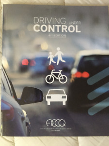 QUEBEC DRIVING BOOK - 6th Edition (ENGLISH)