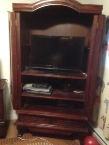 Armoire meuble télé nego