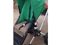 Bugaboo cameleon with frog frame