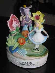 Alice in Wonderland Walt Disney Limited Edition Music Box Large