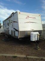 2010 Zinger ZT-260-BH travel trailer $13,500.00