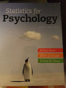 Statistics for Psychology 6th edition