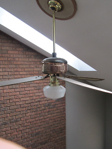 Ceiling fan with extension
