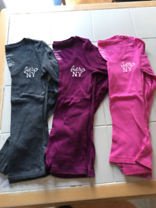 3x girls long sleeve shirts from Aeropostale size Med (14/16)