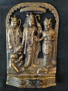 Various Brass Indian Statue Murti for sale