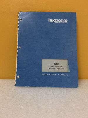 Tektronix 070-1792-01 1502 Time Domain Reflectometer Instruction Manual