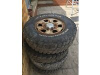Toyota Hilux 2011 Alloy Wheels