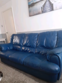 3 seater leather sofa - free