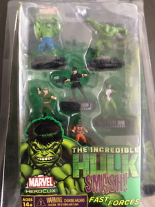 Heroclix Hulk Smash! Fast Forces Set