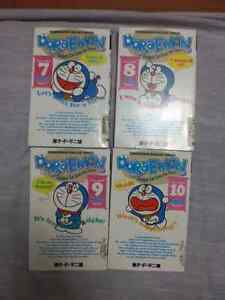 Doraemon manga books 7-10