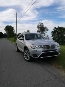 BMW X3 xDrive28i 2017 - Full Equip. 30 Mois, 30 Months Left