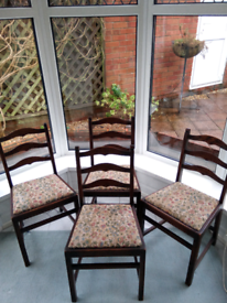 4 Ercol Dining Room Chairs