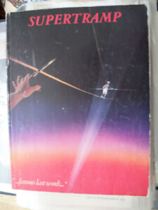 SUPERTRAMP: Famous last words PB book only