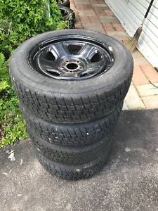 Winter Tires and Rims 225/60/R18 (Charger/Challenger/300)