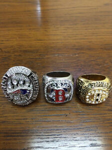 NFL, NHL & MLB Replica Championship Rings For Sale