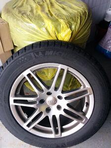 Winter Rims 5 x 112 (5 x 4.41) & Tires 235/55/R17