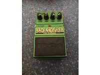 Bad monkey tube overdrive/booster