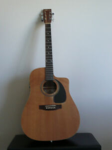 Acoustic Norman Guitar used model B20 CW