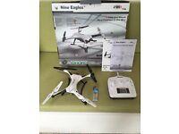 Nine eagles drone