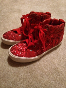 Girls size 1 sneakers from The Gap