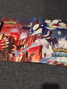 Limited Edition Pokemon ORAS Poster