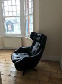 original vintage Paker Knoll Satesman evolution swivel seat
