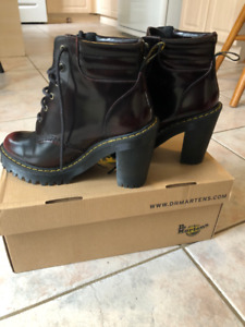 Dr Marten Persephone Boots Cherry Red US 6 UK 4
