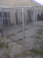 Kennel Enclosure 12ftLx6ftHx8ftw $395.00  Dog House can deliver