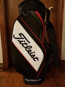 Men's Titleist Cart Bag - Black/White/Red