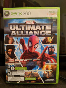 Marvel Ultimate Alliance + Forza Motorsport 2 pour Xbox 360