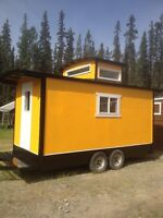 Tiny house caboose for rent