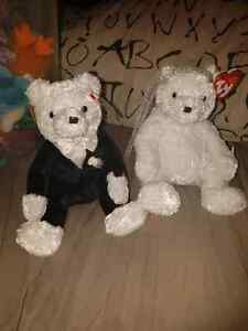 Bride and Groom Beanie Babies
