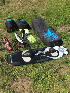 Kiteboarding Package Set Up