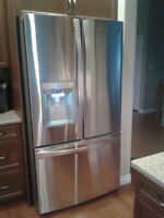 Kenmore Elite Bottom Freezer side by side Refrigerator